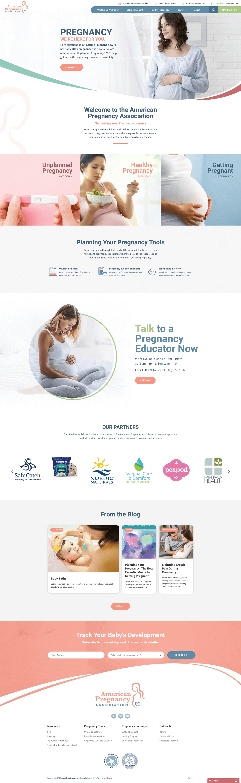 American Pregnancy Association Website